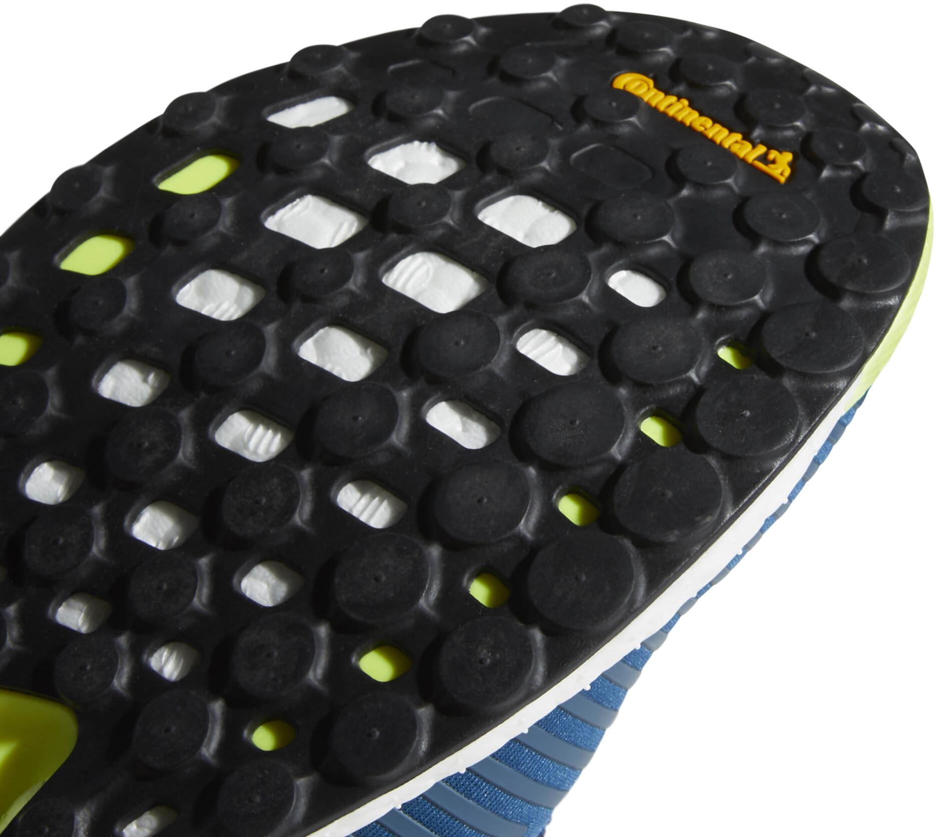 adidas SolarBoost Scarpe da corsa Uomo, legend marine/ash grey/hi-res yellow  879960 agsju